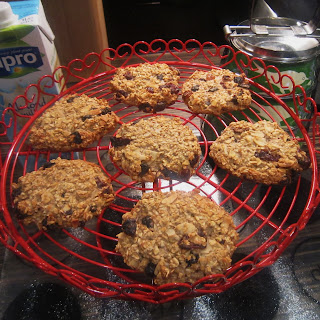 Healthy Oat Breakfast Cookie.