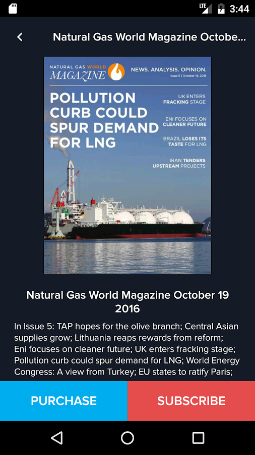 Natural Gas World- screenshot