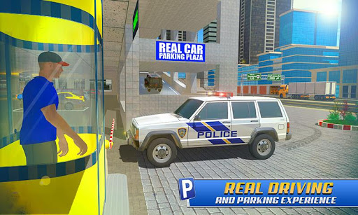 Police Car Parking: Police Jeep Driving Games screenshots 2