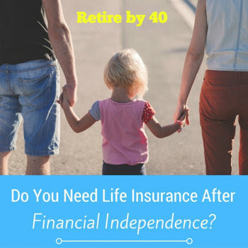 Do you need life insurance after Financial Independence?