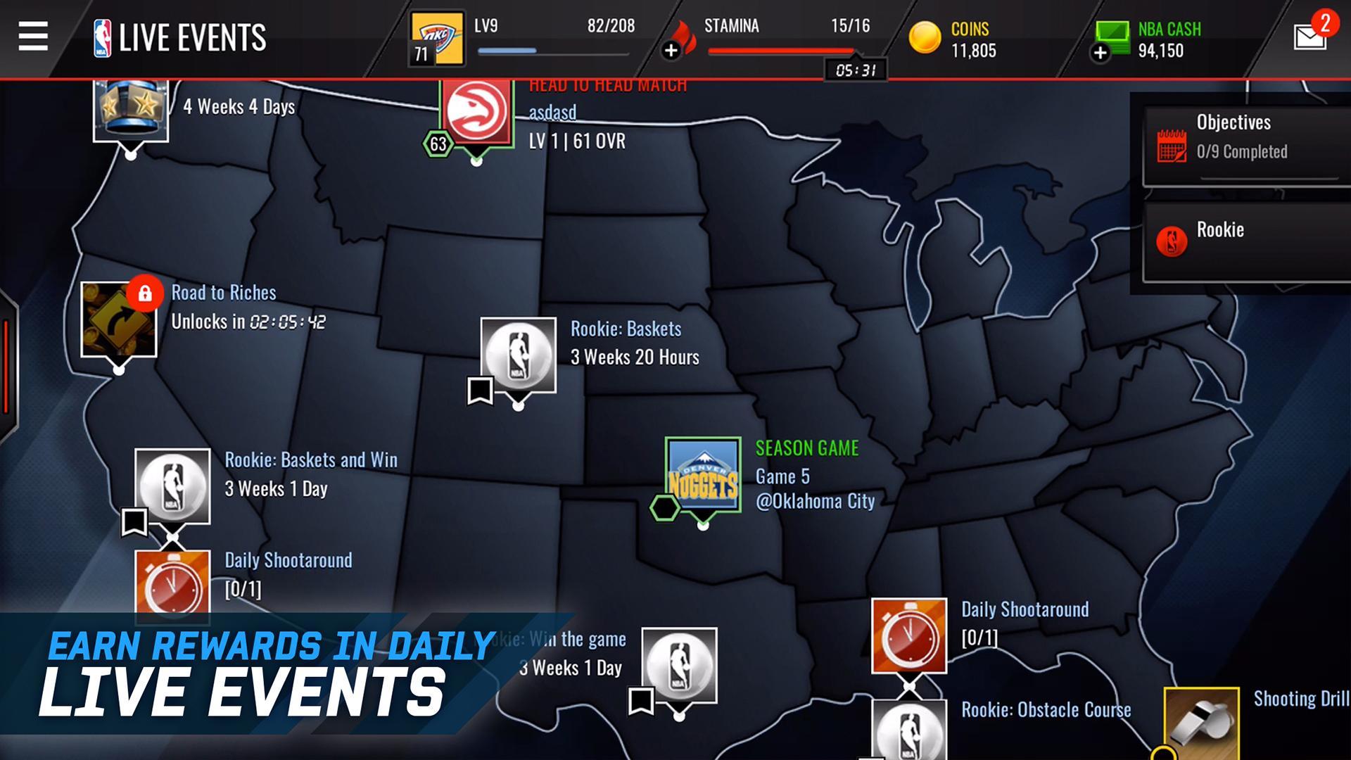 NBA LIVE Mobile Basketball screenshot #3