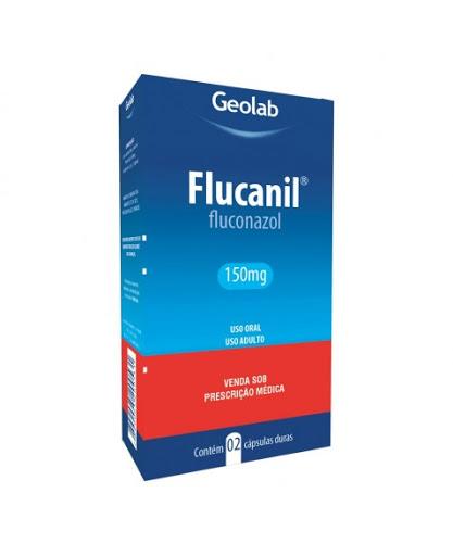 Fluconazol Flucanil 150mg x 2 Capsulas
