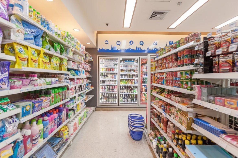 thiết kế siêu thị mini - thiết kế tạp hóa tại Hà Nội