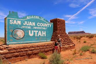 Photo: Welcome to Utah