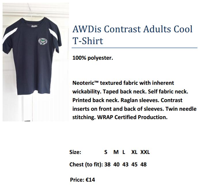 AWDis Contrast Adults Cool  T-Shirt