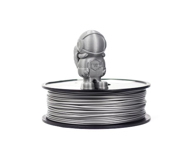 Silver MH Build Series PLA Filament - 3 00mm (1kg)