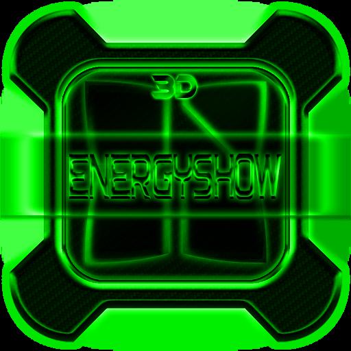 Next Launcher Theme EnergyGRN