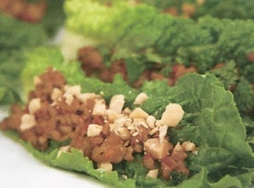 Chinese Chicken Lettuce Wraps Recipe