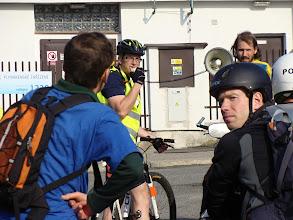 Photo: pan Mejsnar, zastupitel městského obvodu Vratislavice s námi také absolvoval celou trasu aby podpořil cyklisty ve městě  Autor: Sylva Švihelová