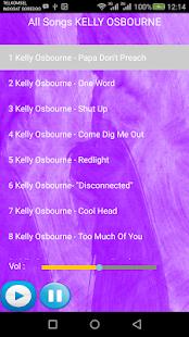 KELLY OSBOURNE SONGS - náhled