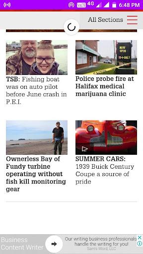 Nova Scotia Daily Newspapers 1.0 screenshots 2