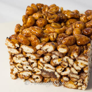 Puffed Wheat Squares.