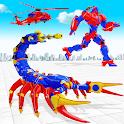 Scorpion Robot Monster Truck Transform Robot Games icon