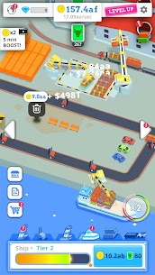 Idle Port Tycoon Mod Apk Download For Android and Iphone 2