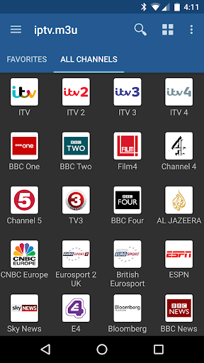 IPTV screenshot 1