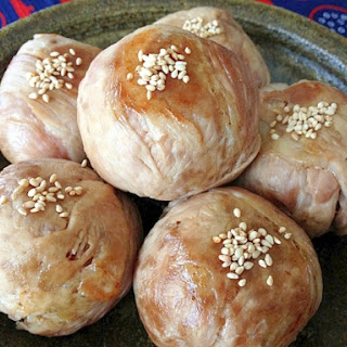Nikumaki Onigiri (Rice Ball Wrapped in Pork)