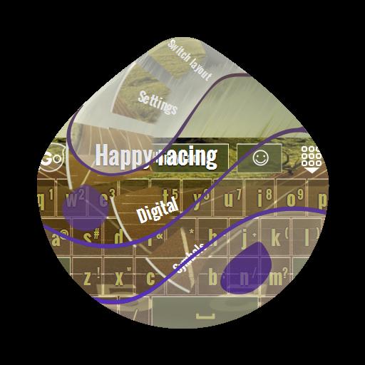 个人化のハッピーレースHappīrēsu GO Keyboard LOGO-記事Game