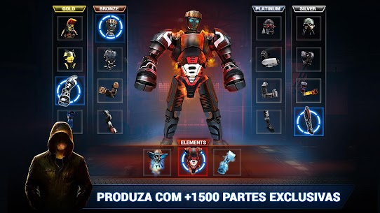 Real Steel Boxing Champions Apk Mod Dinheiro Infinito 3