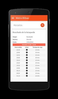 Metro Bilbao - screenshot