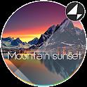 Mountain Sunset for Xperia™ icon