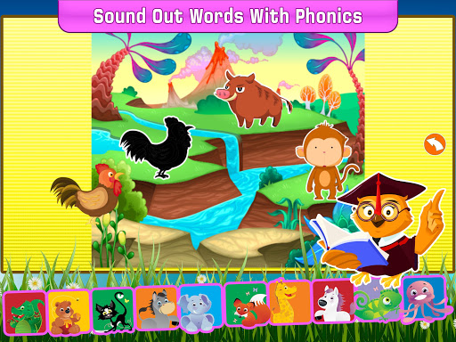 Animal Pics Name Spelling for Kids