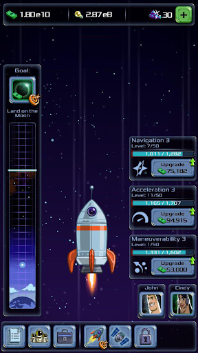 Idle Tycoon: Space Company  captures d'u00e9cran 1