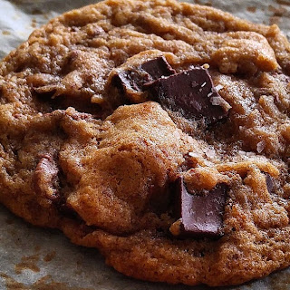 (Almost) Ovenly's Salted Chocolate Chip Cookies.