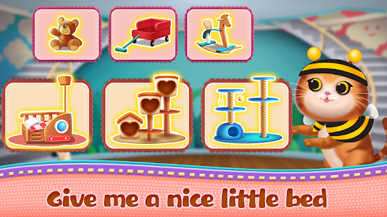 Kitten Party Cat Home Decorate MOD (Unlimited Gold Coins) 4