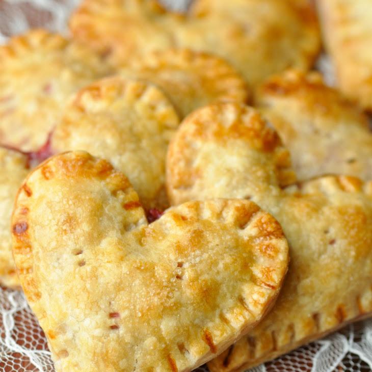 Pear-Raspberry Heart Pies Recipes — Dishmaps