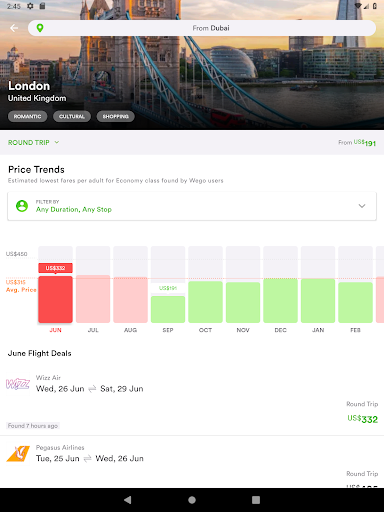 Wego Flights, Hotels, Travel Deals Booking App 6.0.7 Screenshots 13
