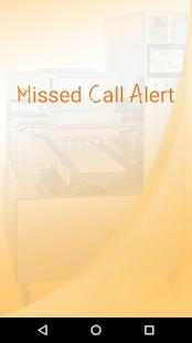Missed Call Alert - náhled