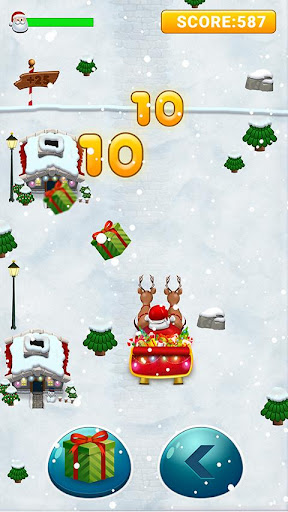 Foto do 🎅 Santa Christmas Run - Xmas Reindeer Rush Game