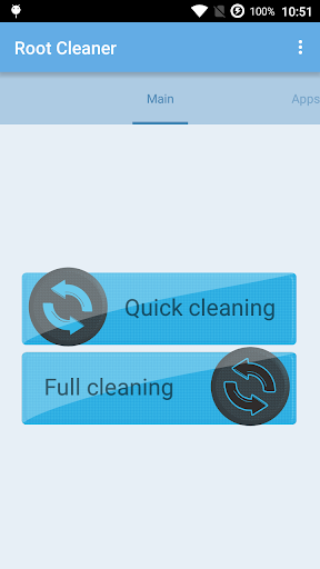 "Приложение ""Root Cleaner"" для планшетов на Android"