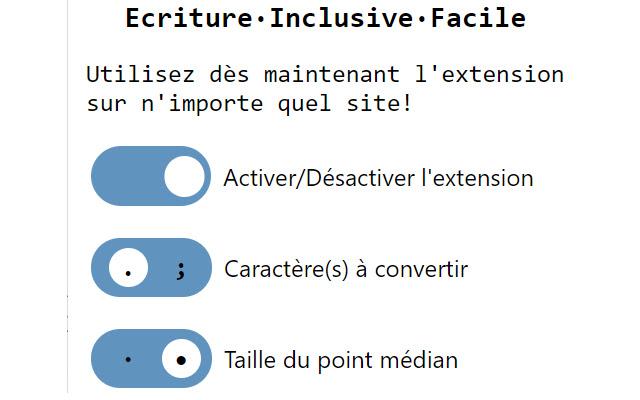 Ecriture·Inclusive·Facile — e·i·f