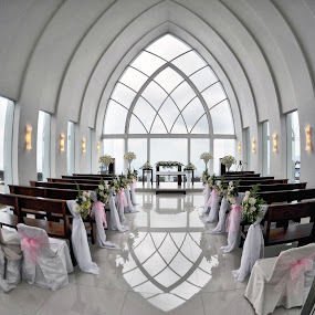 Semarang - Inside La Kana Chapel  by Yongki RS - Buildings & Architecture Other Interior