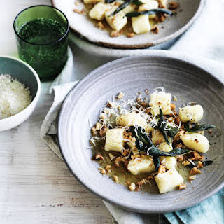 Gnocchi With Sage Brown Butter And Walnuts.