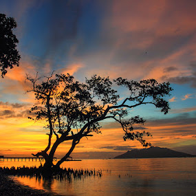 Nangahale Sunset by Marcell Boli - Landscapes Sunsets & Sunrises ( sunset )