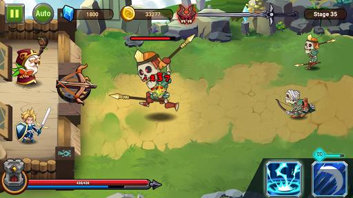 Castle Defender: Hero Shooter - Idle Defense TD apktram screenshots 5
