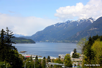 Photo: (Year 2) Day 327 -  Looking Down in to Horseshoe Bay (Canada)