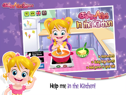 Baby Arya in Kitchen- screenshot thumbnail