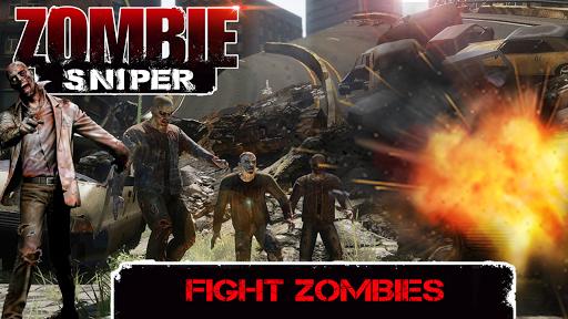 Zombie Sniper - Last Man Stand  screenshots 4