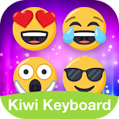 Kiwi Keyboard Emoji one