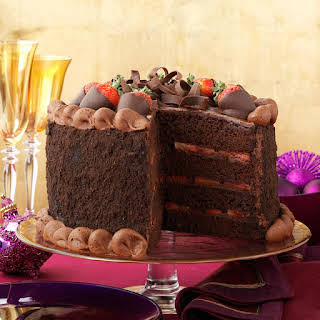Fudge Fantasy Cake.