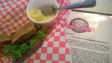 Photo: August 9-Thank you, BLT and sweet tea.  This really was a welcome pit stop.