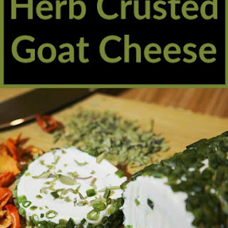 Herb Crusted Goat Cheese
