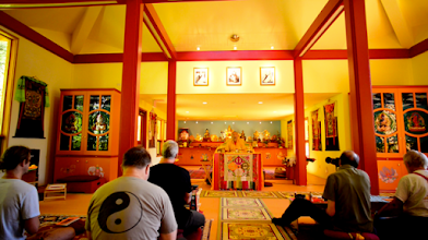 Photo: Inside of Temple 2014