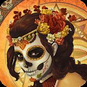 Mexican Skull Live Wallpaper