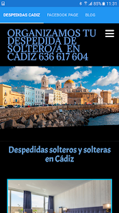 Despedidas solteros Cadiz- screenshot thumbnail