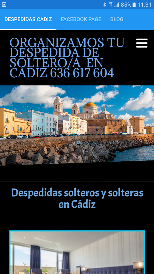 Despedidas solteros Cadiz- screenshot