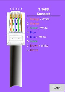 RJ45 Cables Colors Connections - Apps on Google Play